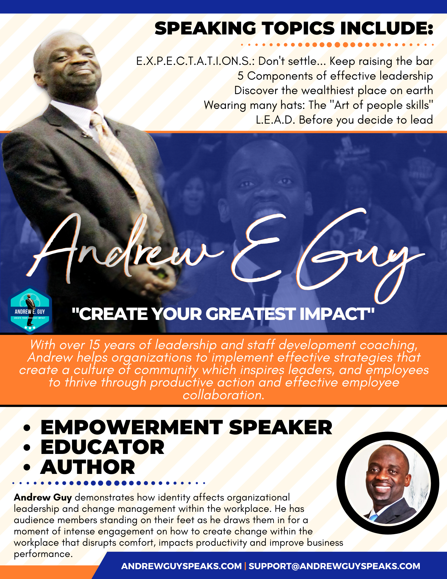 SPEAKER-ONE-SHEET-corporate speaker, andrewguy, conference speaker